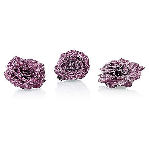 Echte Veilchen-Blüten, violett, ganz kandiert, ø ca. 3cm, essbar, Flor & Flor, 48g, 24 St