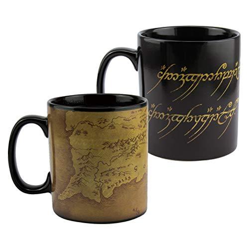 Paladone PP6546LR Mug à café changeant de couleur Le Seigneur des Anneaux 550 ml