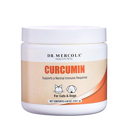 Dr. Mercola, Curcumin, for Cats and Dogs, 4.30 oz (122.1 g)
