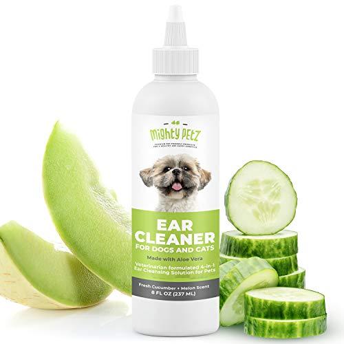 4-in-1 Dog Ear Cleaner - Vet Formulated Cleansing...