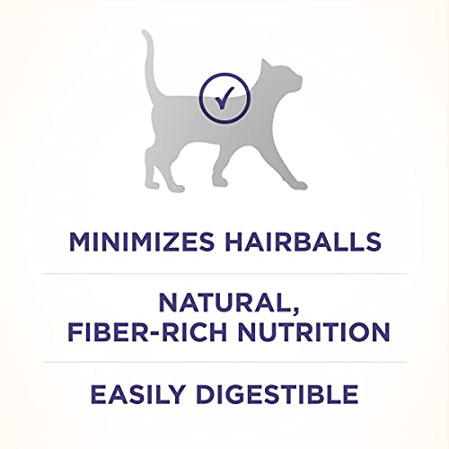 Product Image 5: Purina ONE Natural Dry Cat Food, Hairball Formula - 22 lb. Bag