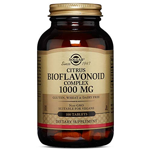 Solgar - Citrus Bioflavonoid Complex, 1000 mg, 100 Tablets