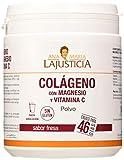 Ana Maria Lajusticia - Colágeno con magnesio y vit c – 350 gramos (sabor fresa) articulaciones...