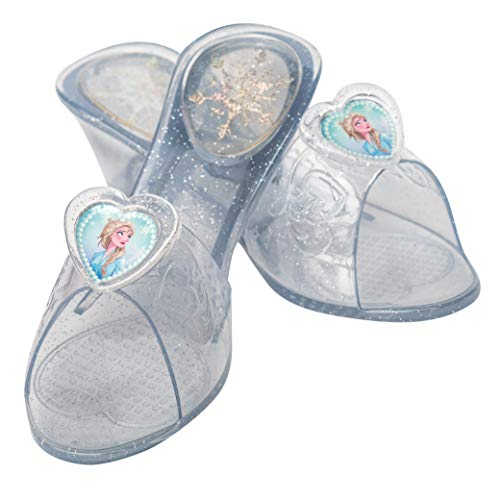 Rubie's- Frozen 2 Zapatos Jelly, Color transparente (300611OS)