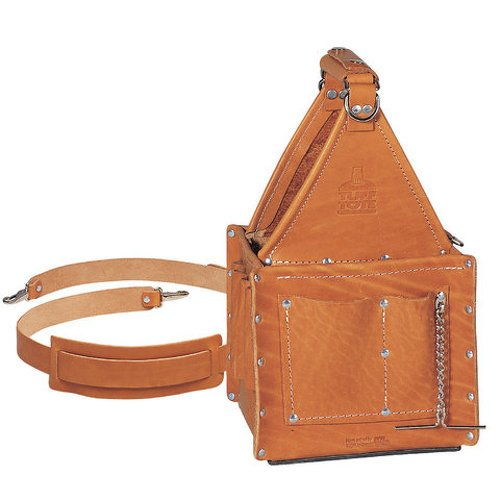 Ideal Industries 35-975 Tuff-Tote Premium Leather Ultimate Tool Carrier...