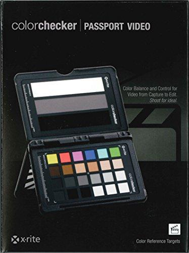 【国内正規代理店品】X-rite (エックスライト) ColorChecker Passport Video (カラーチェッカー パスポート ビデオ) KHG3421-PPV