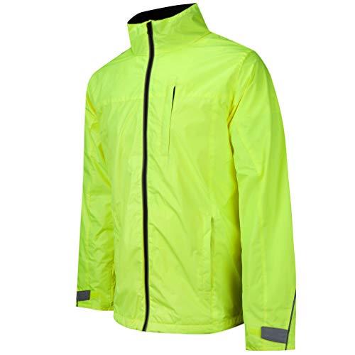 BTR Waterproof Cycling and Running Jacket Reflective & High Visibilty. Large 42-44 inches