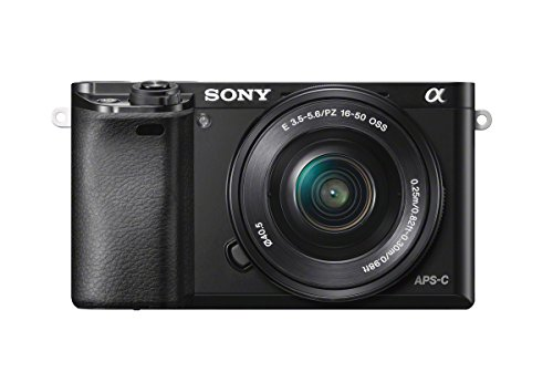Sony Alpha 6000L Kit Fotocamera Digitale Mirrorless con Obiettivo Intercambiabile SELP 16-50 mm, Sensore APS-C, Video AVCHD, Eye AF, ILCE6000B + SELP1650, Nero