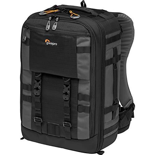Lowepro Pro Trekker BP 350 AW II Zaino Fotografico Outdoor con Divisori MaxFit per Laptop/iPad 15', Pro Mirrorless e DSLR, Sony, Canon, Nikon, Gimbal, Drone, DJI, Nero/Grigio Scuro