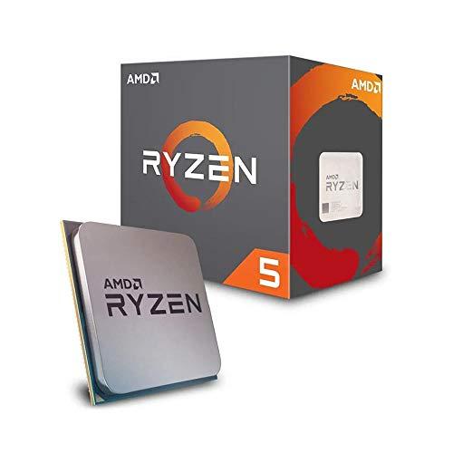 AMD YD2600BBAFBOX Ryzen 5 2600 - Procesador AM4, 3.4 Ghz, 6 Núcleos de CPU