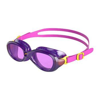 Speedo Unisex Child Futura Classic Goggles, Purple (Ecstatic Pink/Violet), One Size