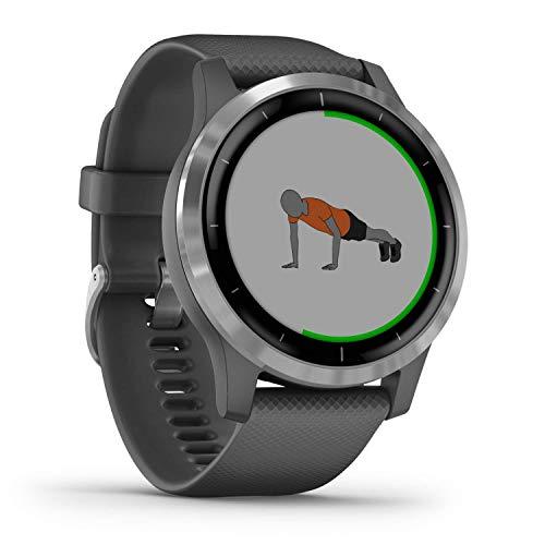 Garmin Vivoactive 4 - Reloj inteligente con GPS y funciones de control...