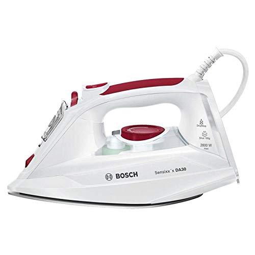Bosch Sensixx'x DA30 Dry & Steam iron CeramicGlide soleplate 2800W White - Irons (Dry & Steam iron, CeramicGlide soleplate, 2 m, 40 g/min, White, 0.3, 0.32)