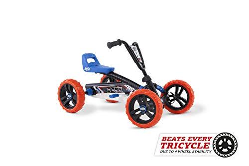 Berg Pedal Gokart Buzzy Nitro   Kinderfahrzeug, Tretauto, Sicherheid und Stabilität, Kinderspielzeug geeignet für Kinder im Alter von 2-5 Jahren