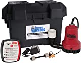 THE BASEMENT WATCHDOG Model BWE 2,000 GPH at 0 ft. and 1,000 GPH at 10 ft. Emergency Battery Backup Sump Pump System