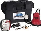 THE BASEMENT WATCHDOG Model BWE 2,000 GPH at 0 ft. and 1,000 GPH at 10 ft. Emergency Battery Backup Sump Pump System