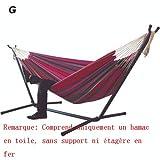 Chaise Suspendue Double hamac, pour Cour de Jardin à l'intérieur, sans...