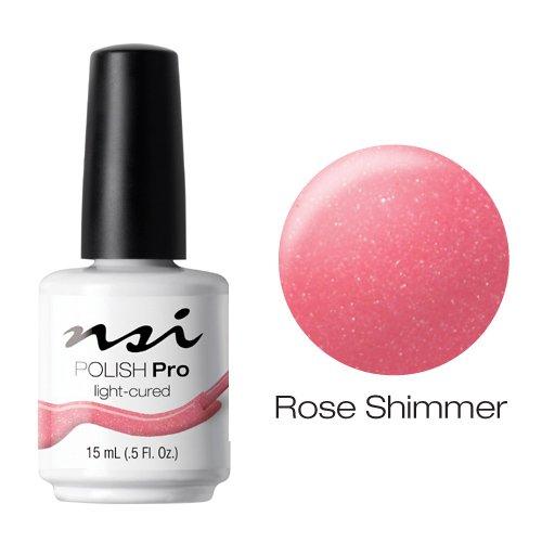 NSI Polish Pro Gel Polish - Rose Shimmer - 0.5oz / 15ml