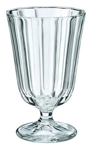 Boutique de France 6 bicchieri per l'acqua, da 25 cl, modello 'Ana a Cotes'