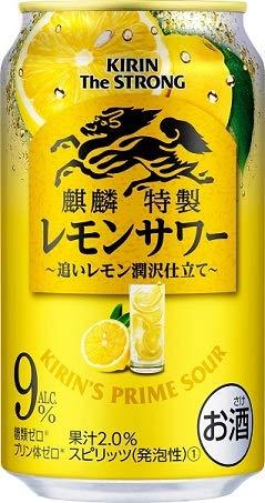 キリンビール 麒麟特製 キリン・ザ・ストロング レモンサワー 350ml 1ケース24本