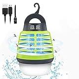 KINGSO Lampe Anti-Moustiques UV IP67 Lampe Tueur...