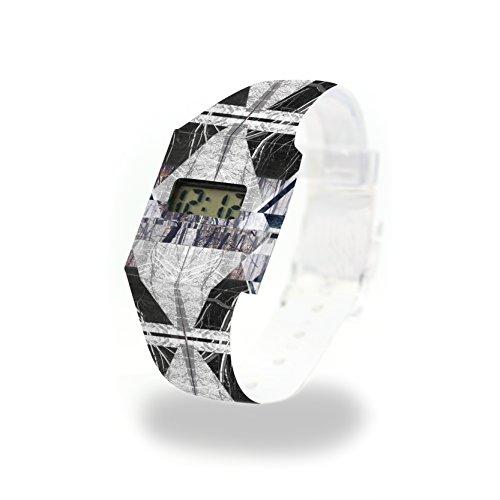 SCALZARE - Pappwatch - Paperlike Watch - Digitale Armbanduhr im trendigen Design - aus absolut reissfestem und wasserabweisenden Tyvek® - Made in Germany, absolut reißfest und wasserabweisend