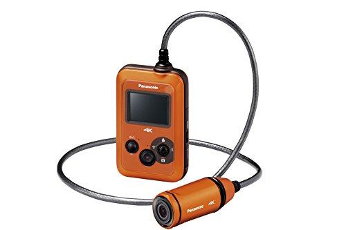 Panasonic ウェアラブルカメラ オレンジ HX-A500-D