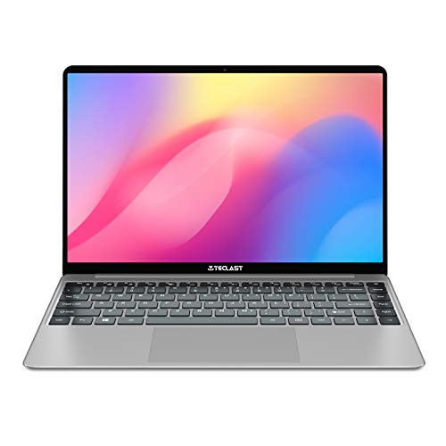 TECLAST F7S 14.1 Inch 7mm Ultra Thin Windows 10 Laptop,1920x1080 Full HD Screen,Intel N3350 1.1-2.4 Ghz CPU 8GB RAM 128GB ROM Support TF Card & M.2 slot(2242/2248) Expansion,Full Size Keyboard,USB 3.0