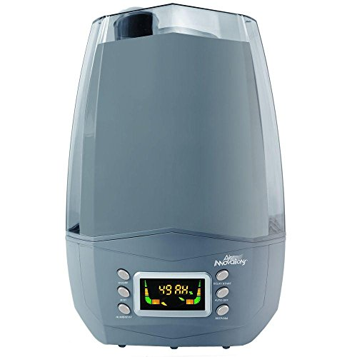 Air Innovations Clean Mist Smart Ultrasonic Humidifier 80 Hour Run Time Model MH-512 (Platinum)