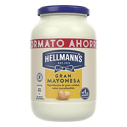 Hellmann's Gran Mayonesa en Tarro 450ml