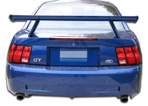 Brightt Duraflex ED-STB-658 CVX Rear Bumper Cover - 1 Piece Body Kit - Compatible With Mustang 1999-2004