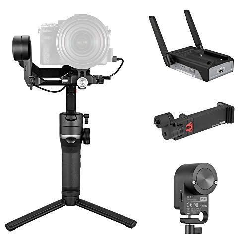 Zhiyun Weebill S Stabilizzatore gimbal portatile a 3 assi per fotocamere reflex mirrorless Sony A7M3 A7R3 A7 III A9 Nikon Z6 Panasonic S1 GH5s Canon 5D4 5DIV 5DIII 5D3 EOS R BMPCC 4K
