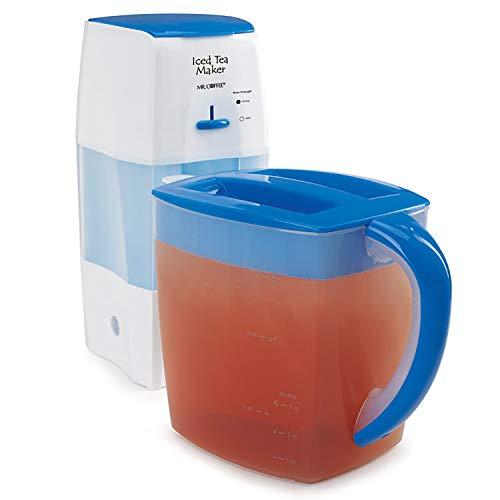 Mr. Coffee Iced Tea Maker 3 Quart with Brew Strength...