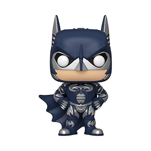 Funko Pop! Heroes - Batman 80th Figurina de Colección Batman 1997, 10', Color Multicolor, Paquete...