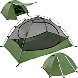 Clostnature Lightweight 2-Person Backpacking Tent - 3 Season Ultralight Waterproof Camping Tent,...