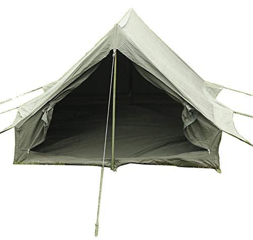 フランス陸軍 テント 2人用 グランドシート付き OLIVE DRAB 軍払下 未使用品 エントランス両エンド2カ所