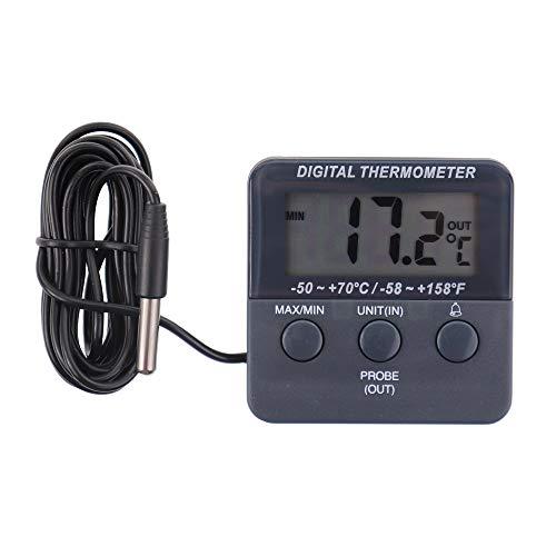 Termometro digitale per frigorifero/congelatore con allarme e max min temperatura funzione