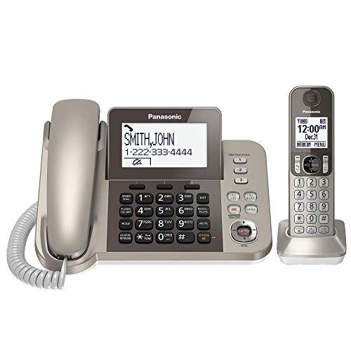 Panasonic KX-TGF350N DECT 1-Handset Landline Telephone by Panasonic