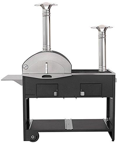 Forno Barbecue MOD. Pizza & Cucina Cottura Ibrida - Fontana Forni