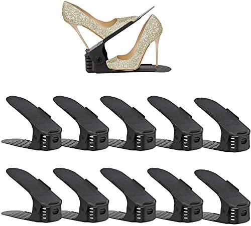 Set de 10pcs Organizadores de Zapatos, Soporte de Calzado de...