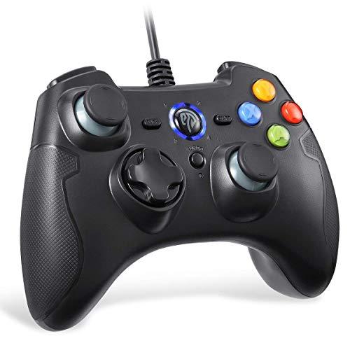 EasySMX Mandos PS3 Gamepad, Game Mando PC Joystick con los Botones de...