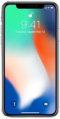 Apple iPhone X, GSM Unlocked 5.8', 64 GB - Silver