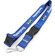 Measures approximately 22-inches in length Decorated with sublimated team colored retro graphics, printed on both sides Features a breakaway tab and quick release buckle making for an easy and comfortable wear Includes a detachable split key ring wit...