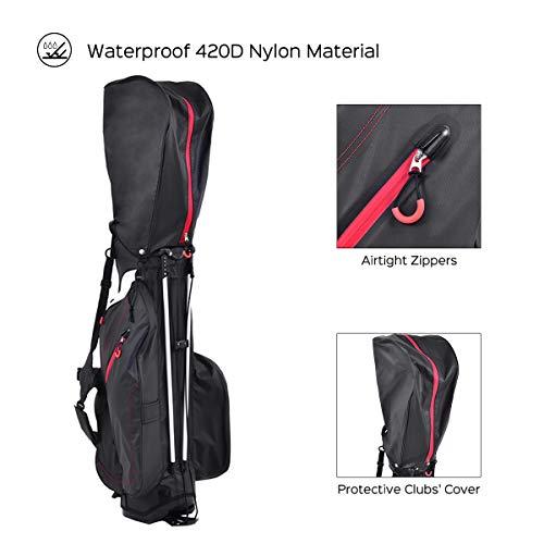 Tangkula-Golf-Stand-Bag-4-Way-85-Divider-Carry-Bag-Golf-Stand-Cart-Bag-Golf-Carry-Bag