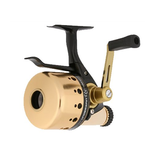 Daiwa US40XD-CP Underspin US XDSpincast Reel, Ambi, 1-Ball Bearing, 4:1:1 Retrieve,Gold