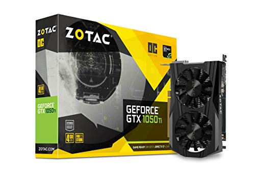 Zotac ZT-P10510B-10L Scheda Video Gaming, GeForce GTX 1050 Ti 4GB GDDR5
