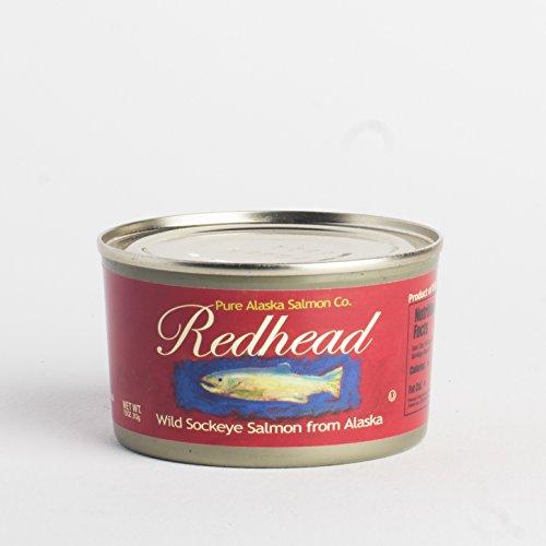 Redhead Wild Sockeye Salmon From Alaska