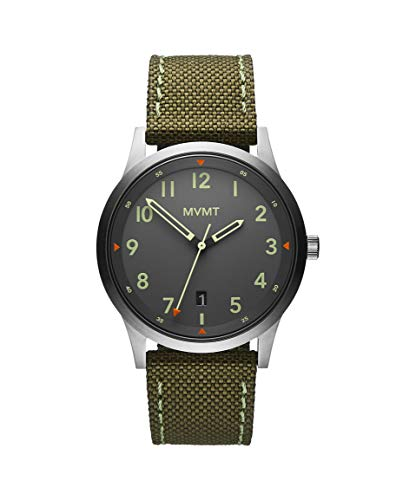 MVMT Herren Analog Quarz Armbanduhr mit Textilarmband 28000014-D