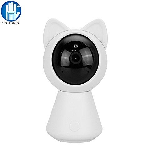 OBO HANDS Mini 960p HD IP Wifi Telecamera Senza fili 360 CCTV di Sicurezza CCTV Baby Monitor Robot di Visione Notturna Giocattolo