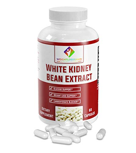 White Kidney Bean - WeightlossBAMN-Carb Blocker and Fat Absorber for Weight Loss, Remove Belly Fat Suppress Glucose & Keto Support Appetite Natural Weight Loss for Men and Women- Boobies 1